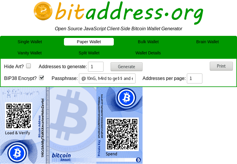 Secure your Bitcoin wallet with a BIP38 private key format